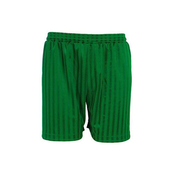 Shadow Stripe Shorts - Emerald