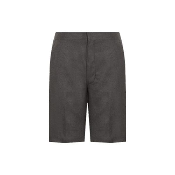 Boys School Shorts - Charcoal