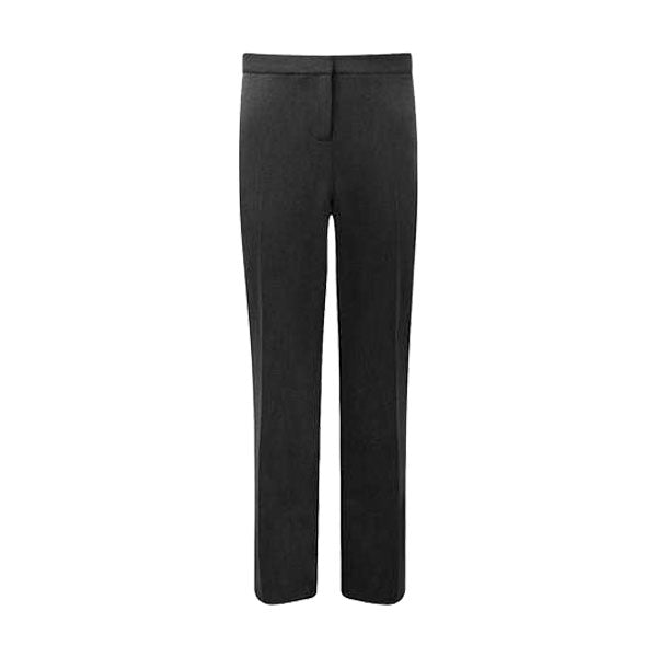 Senior Girls Slimfit Trousers - Black