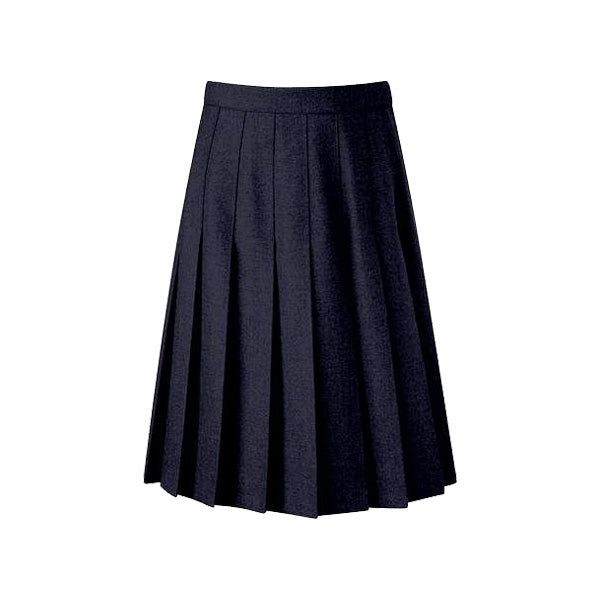Senior Knife Pleated Skirt - Navy