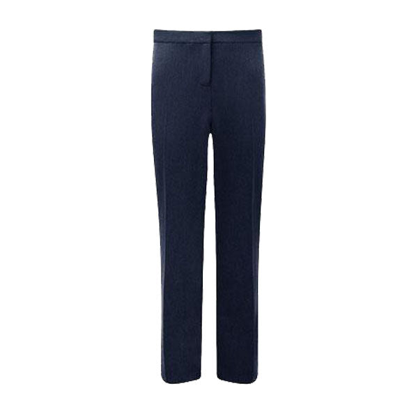 Senior Girls Slimfit Trousers - Navy