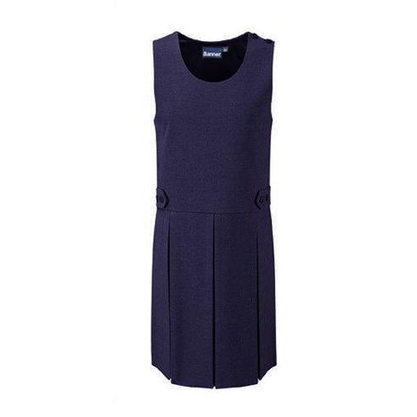 Pinafore Dress - Navy