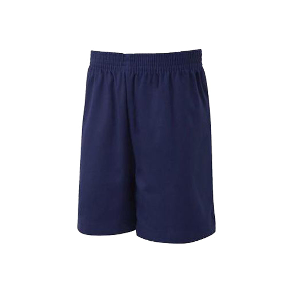 Cotton PE Shorts - Navy