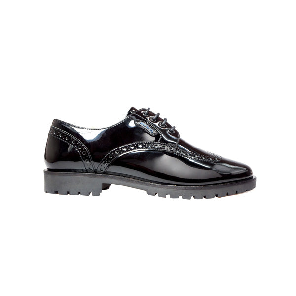 Senior Girls School Patent Shoes - Karley