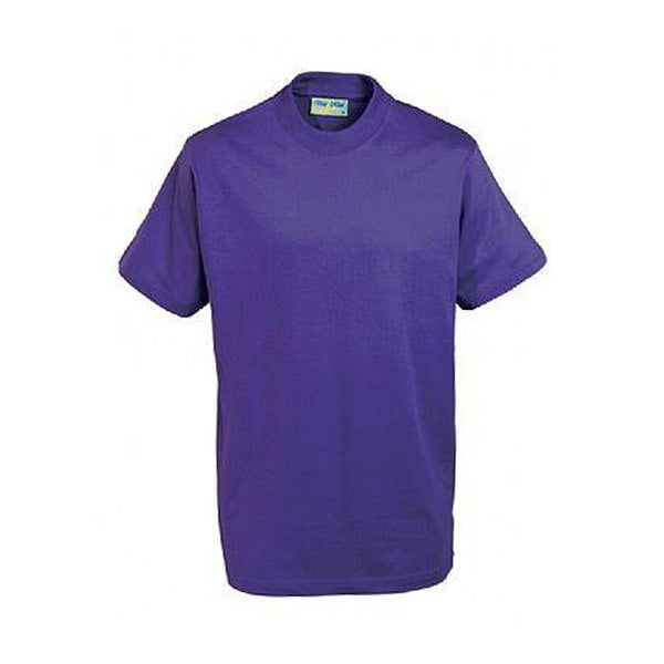 Cotton T-Shirt - Purple
