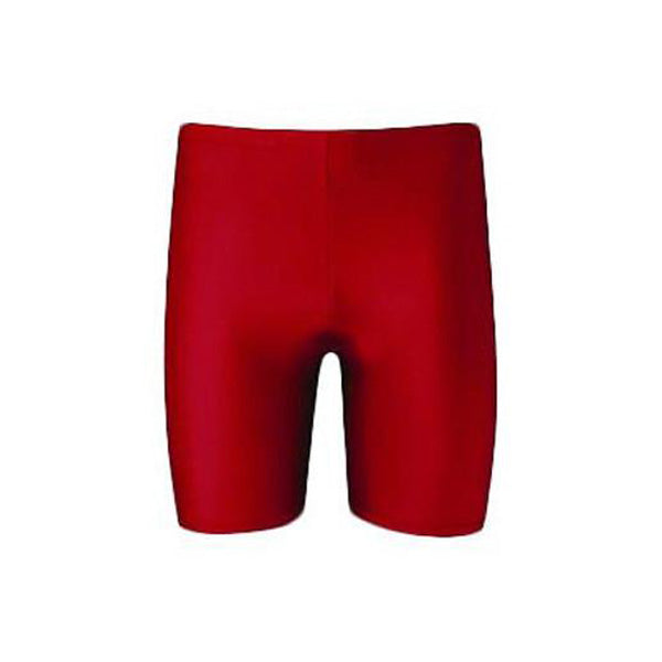 Girls Lycra PE Shorts - Red
