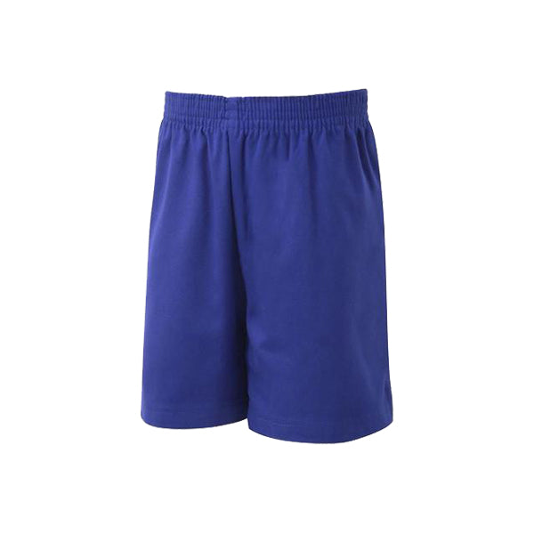 Cotton PE Shorts - Royal
