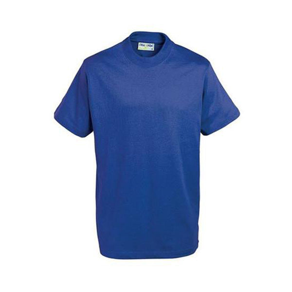 Cotton T-Shirt - Royal Blue
