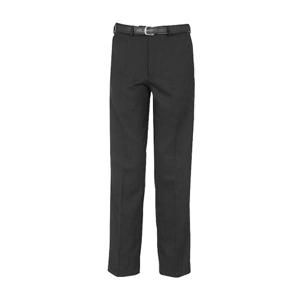 Senior Boys Sturdy-Fit Trousers - Black