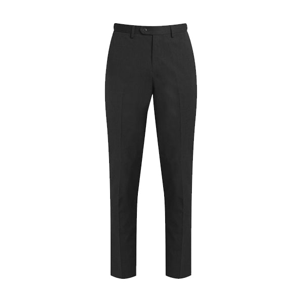 Slim-Fit Senior Boys Trousers - Charcoal