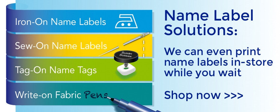 Sussex Uniforms Name Label Solutions