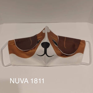 Hound Dog - face mask with NUVA 1811 water repellent technology