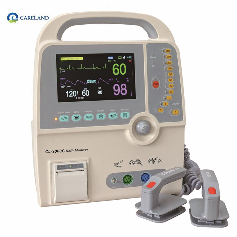 Defibrillator ECG cardiac biphasic Portable