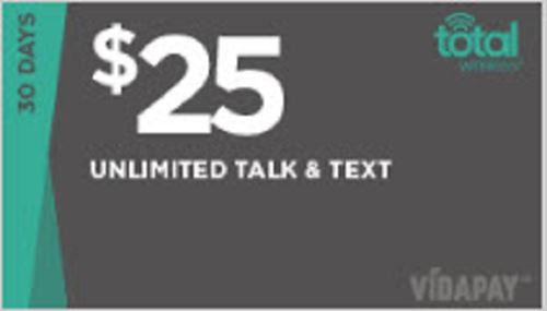 TotalWireless Monthly talk & text