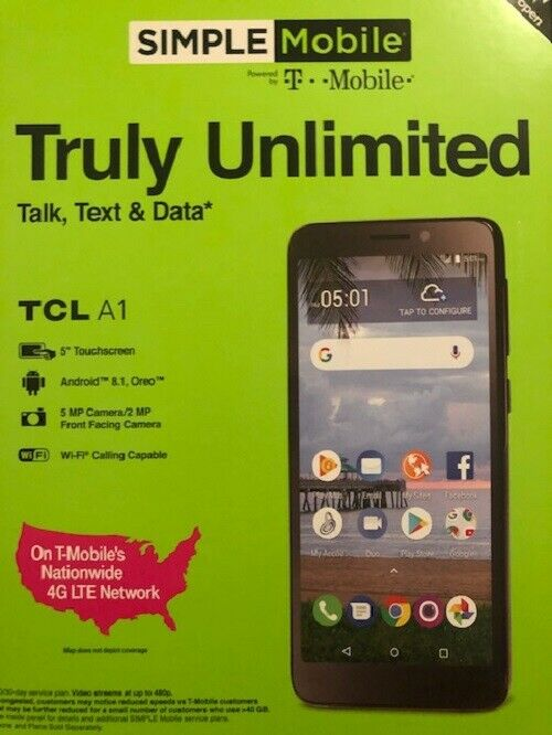 TCL A1 Phone (Simple mobile )