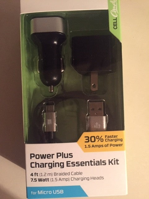 Power Plus Charging Essentials Kit (Android)