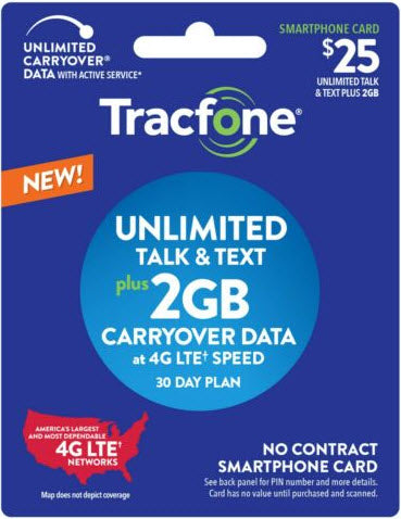 Tracfone Pin Air time (Smartphone) 2GB