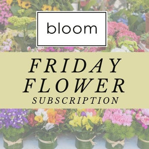 Friday Flower Subscription
