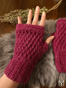 KAARNA | PDF pattern | Fingerless gloves