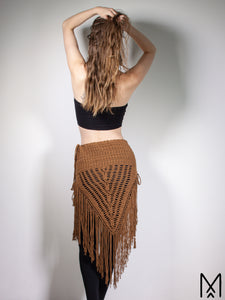 WILDTHING | Made to order | Organic Fringe Triangle Skirt