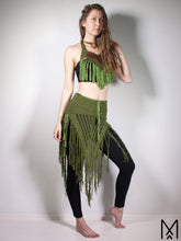 Load image into Gallery viewer, FOREST FAE | Organic cotton costume with collar and skirt | XS-M