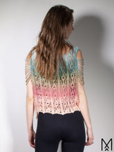Load image into Gallery viewer, LOTUS | Ombre crochet shirt with open sides | S-M