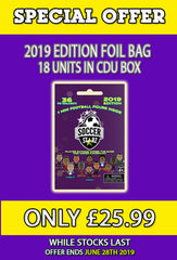 **SPECIAL OFFER** 18 x SoccerStarz (2019) Foil Bag