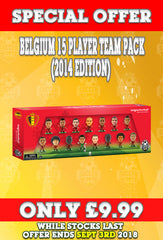**SPECIAL OFFER** Belgium 15 Player Team Pack (2014)