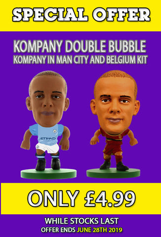 **SPECIAL OFFER** Vincent Kompany Double Bubble