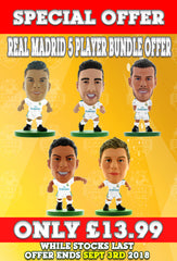 **SPECIAL OFFER** Real Madrid 2018 Kit Blister Pack Bundle!