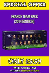 **SPECIAL OFFER** France - 15 Player Team Pack