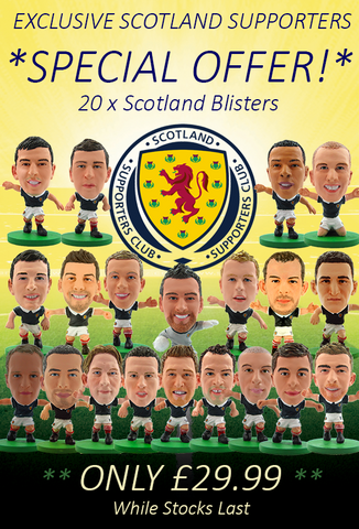 Scotland Supporters Exclusive - 20 Scotland Blisters
