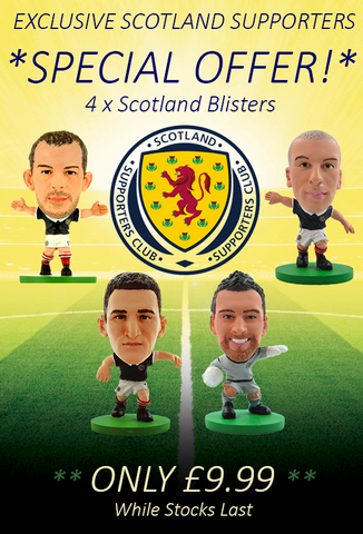 Scotland Supporters Exclusive - 4 Scotland Blisters