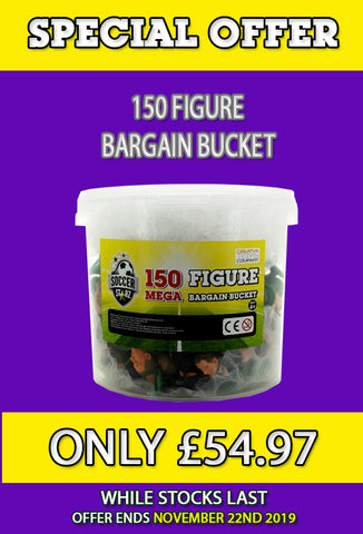 **SPECIAL OFFER** 150 pcs Bargain Bucket