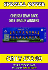 **SPECIAL OFFER** Chelsea 2015 League Winners 20 Player Team Pack