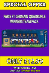 **SPECIAL OFFER** Paris St Germain Quadruple Winners Celebration Pack