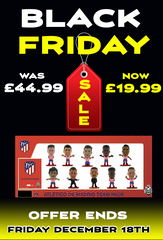Black Friday Deal - Atletico Madrid Team Pack 10 figure