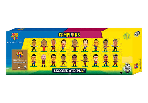 Barcelona Treble Winners Celebration 18 Player Team Pack (Version A)