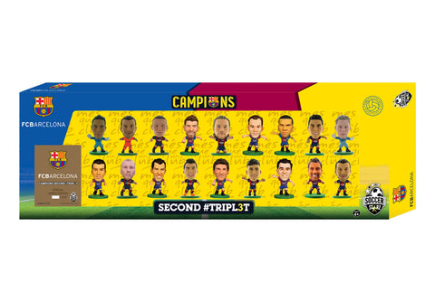 Barcelona Treble Winners Celebration 18 Player Team Pack (Version B)