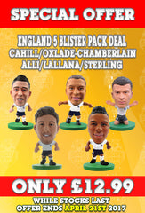 **SPECIAL OFFER** England Core Players 5 Blister Pack Bundle