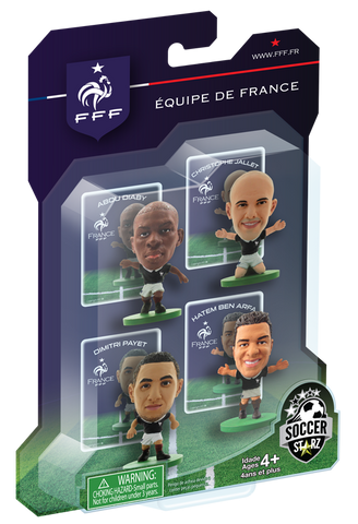 France - 4 Player Blister Pack A