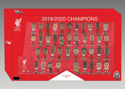 Limited Edition Liverpool 2019/2020 League Winners Home and Away Kit Team Pack!