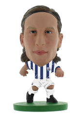 West Brom - Jonas Olsson Home Kit (Classic Kit)