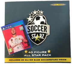 SoccerStarz 40 Figure All Star Pack and FIFA 20 on PS4 Game Bundle