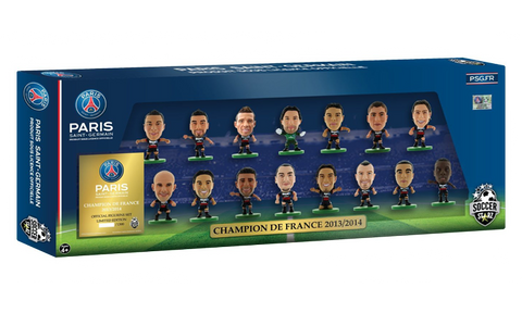 Paris St Germain Ligue 1 Celebration 15 Player Team Pack