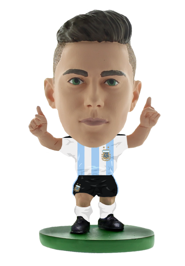 new arrival 5eb5a 53d19 Argentina Paulo Dybala - Home Kit | The Official SoccerStarz ...