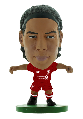 Liverpool Virgil Van Dijk - Home Kit (2019 version)
