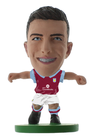 Aston Villa - Ciaran Clark Home Kit (2016 version)