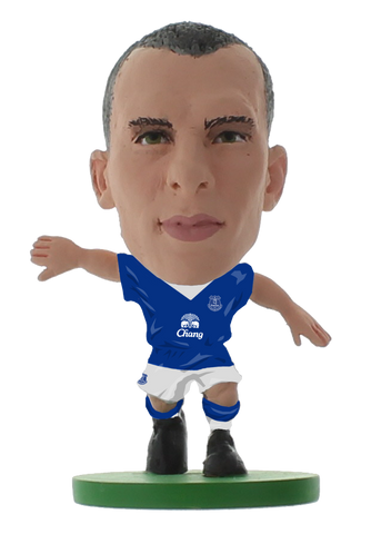 Everton - Leon Osman Home Kit (2016 version)
