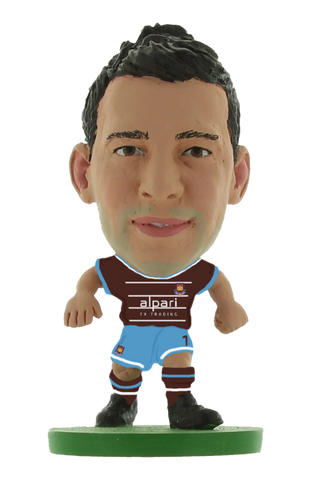 West Ham - Matt Jarvis Home Kit (2015 version)